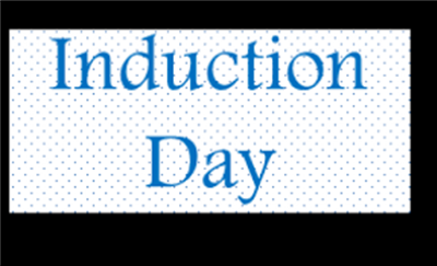 Induction Day & Book Sale 2017