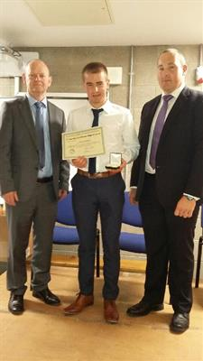 6th Year student wins Award for BEST Leaving Certificate Engineering Project in the country!