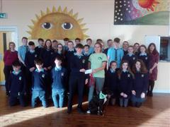3rd Year students raise €550 for West Cork Animal Welfare