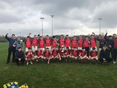 Senior Boys Footballers WIN Carbery TEAM OF THE MONTH!