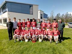 U14 Boys footballers win Dr Herlihy Shield