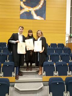3 Pupils Students awarded UCD Academic Scholars Award
