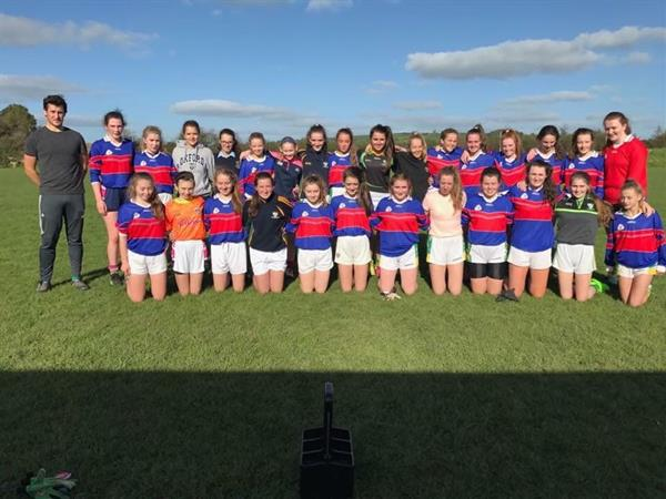 Junior Girls Footballers into Munster Semifinals