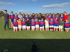 Junior Girls Footballers into Munster Semifinals