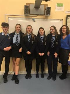 Transition Year Debate Team
