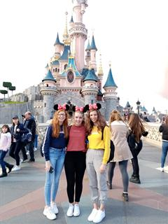 TY Students visit Euro Disney