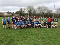 U15 Rugby Match