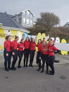 TYs enjoy Surfing!