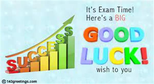 Best Wishes to our Leaving Certificate Students!